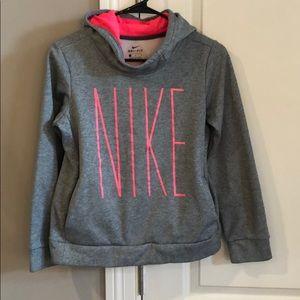 Girls Nike Hoodie Size Large